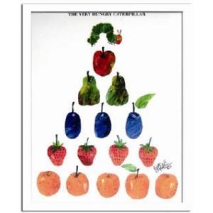 エリック・カール/Eric Carle Fruits(フルーツ)/絵画 壁掛け 壁飾り インテリア 油絵 花 アートパネル ポスター 絵 額入り リビング 玄関|ayuwara