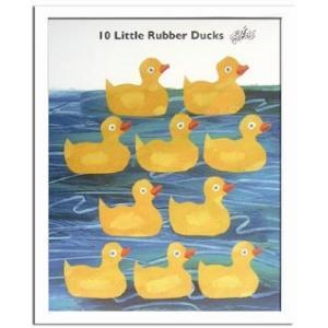 エリック・カール/Eric Carle 10匹のおもちゃのあひるの物語(10 Little Rubber Ducks)|ayuwara