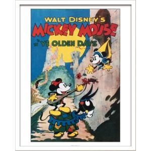 Disneyポスター/ビンテージ ディズニー シリーズ Mickey Mouse 1 ミッキーマウス1|ayuwara