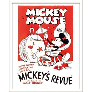Disneyポスター/ビンテージ ディズニー シリーズ Mickey Mouse 2 ミッキーマウス2|ayuwara