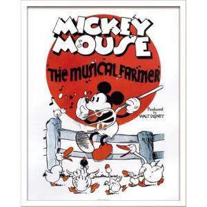 Disneyポスター/ビンテージ ディズニー シリーズ Mickey Mouse 3 ミッキーマウス3|ayuwara
