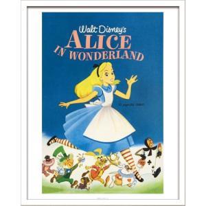 Disneyポスター/ビンテージ ディズニー シリーズ Alice in Wonderland ふしぎの国のアリス|ayuwara