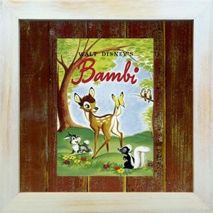 Disneyフレーム/ゆうパケット ビンテージ ディズニー シリーズ Bambi 1 バンビ1|ayuwara