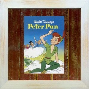 Disneyフレーム/ゆうパケット ビンテージ ディズニー シリーズ Peter Pan ピーターパン|ayuwara