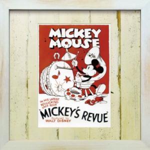 Disneyフレーム ゆうパケット ビンテージ ディズニー シリーズ Mickey Mouse 4 ミッキーマウス4/絵画 壁掛け 壁飾り インテリア|ayuwara