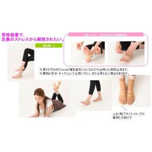 即納 足裏専用薄型磁気ベルト ジャスパーエンゼルフィット 両足用(左右2個入り)  |az-shop|04