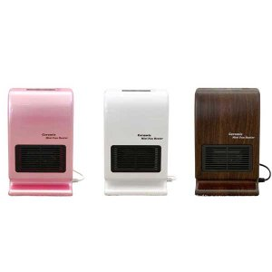 即暖セラミックミニファンヒーター カラー:パールピンク、パールホワイト、ウッド調   ※発送まで2日〜3日お時間をいただきます|az-shop|07