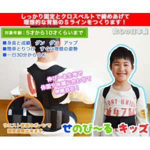 せのび〜る キッズ ジュニアサイズ(身長140〜155cm) 日本製 即納|az-shop|02