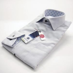 FATTURA  ワイシャツ メンズ 長袖 日本製 ドレスシャツ 白 ホワイト|azdeux