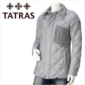 TATRAS タトラス ハーフダウンジャケット 【MTA15A4291-10】 グレー/GREY/GRAY メンズ|azdeux