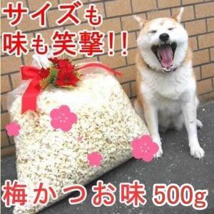 業務用 ポップコーン 梅かつお味 500g|azechi
