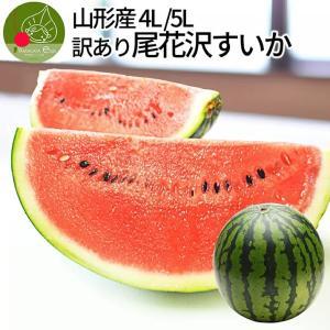 尾花沢スイカ 訳あり 4L・5L 1玉(9kg以上) 山形県...