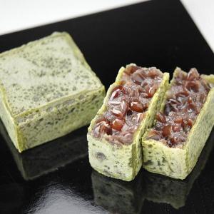 和菓子「抹茶きんつば」(化粧箱6個入) aziroan 02