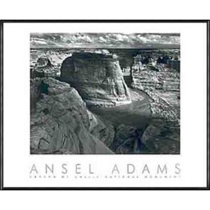 Canyon de Chelly(アンセル アダムス) 額装品 アルミ製ハイグレードフレーム|aziz