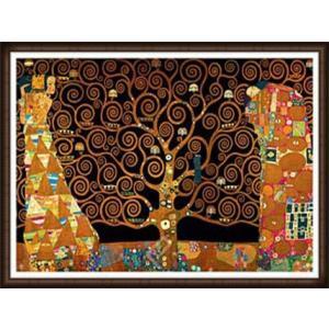 ストクレ邸フリーズのための下絵[期待-生命の樹-抱擁-Interpretation](グスタフ クリムト) 額装品 ウッドハイグレードフレーム|aziz