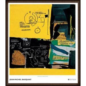 Untitled 1984(ジャン ミシェル バスキア) 額装品 ウッドハイグレードフレーム aziz