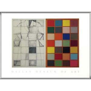 Colored Window(ジム ダイン) 額装品 アルミ製ハイグレードフレーム|aziz