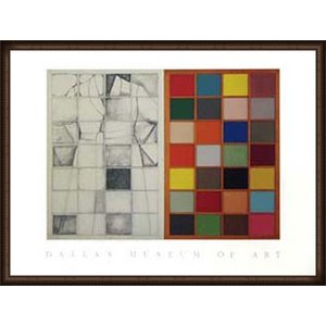 Colored Window(ジム ダイン) 額装品 ウッドハイグレードフレーム|aziz