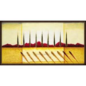 イタリアの糸杉(ラズロ エメリッヒ) 額装品 ウッドハイグレードフレーム aziz