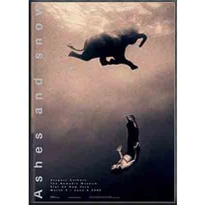 Ashes and snow Gregory Colbert Swimming With Elephant NY(グレゴリー コルベール) 額装品 アルミ製ハイグレードフレーム|aziz