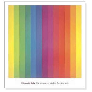 ポスター アート Spectrum IV