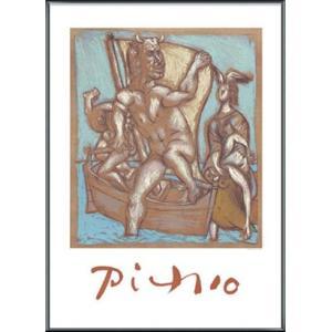 Femme et Minotaure 限定2000枚(パブロ ピカソ) 額装品 アルミ製ベーシックフレーム|aziz