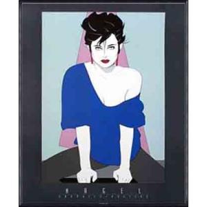 Blue Sweater 1990(パトリック ナーゲル) 額装品 アルミ製ハイグレードフレーム|aziz