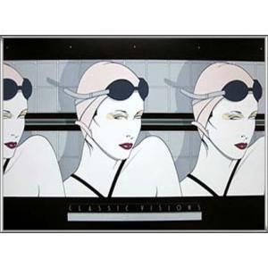 Swimmers 1979年(パトリック ナーゲル) 額装品 アルミ製ハイグレードフレーム|aziz