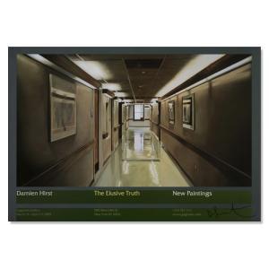 The Elusive Truth Hospital Corridor  2005年 サイン入り|aziz