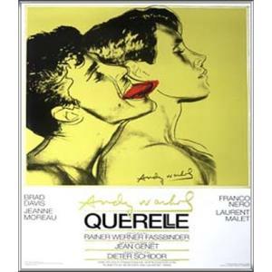 Querelle Green(アンディ ウォーホル) 額装品 アルミ製ハイグレードフレーム aziz