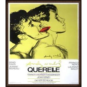 Querelle Green(アンディ ウォーホル) 額装品 ウッドハイグレードフレーム aziz