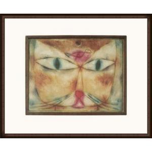 猫と鳥 2004(パウル クレー) 額装品 ウッドハイグレードフレーム aziz