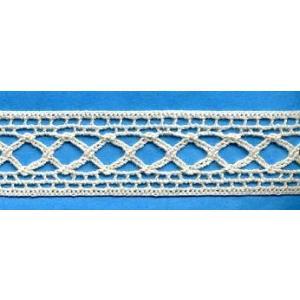 綿トーションレース 生成 20mm幅 測り売り1m単位 在庫限り|aznetcc