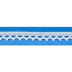 トーションレース 綿 白 10mm幅 測り売り1m単位 メール便発送対象商品/手芸用品 手作り ハンドメイド クラフト用品 aznetcc