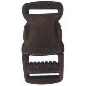 プラスチックバックル 15mm YKK 黒 2ヶ入/手芸用品 手作り ハンドメイド クラフト用品|aznetcc