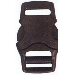 プラスチックバックル 8mm YKK 黒 2ヶ入/手芸用品 手作り ハンドメイド クラフト用品|aznetcc