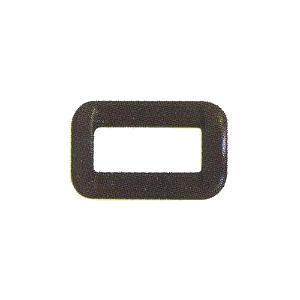 カラー角カン 15mm YKK 黒 5ヶ入/手芸用品 手作り ハンドメイド クラフト用品|aznetcc