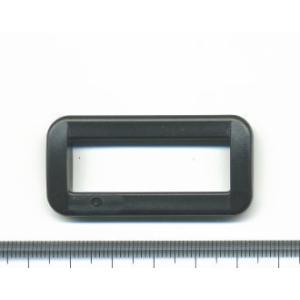 カラー角カン 38mm YKK 黒 2ヶ入/手芸用品 手作り ハンドメイド クラフト用品|aznetcc
