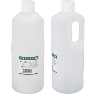 AZ ポリエチレン ボトル 丸 手付 1L|azoil