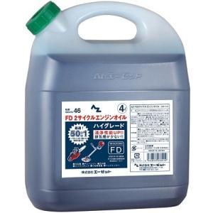 AZ FD 2サイクル エンジンオイル 4L ( ハイグレード ) FDグレード|azoil