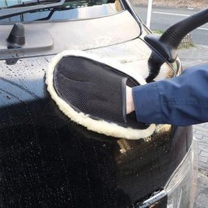 AZ 洗車7点セット(CCT-002 ワックスコーティング剤300ml+CCL-002 カーシャンプー1L+乗れる9Lバケツ+スポンジ2種類+マイクロファイバータオル+ムートングローブ) azoil 02