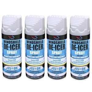 氷かきキャップ付き -45℃の極寒地でも凍らない、ガラス面の再凍結を防止します。  用途:自動車のフ...