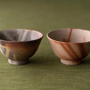 備前焼 陶吉作 組茶碗 42-253-105|azp-shop