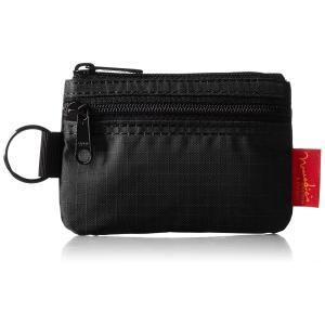 [ノーマディック] 財布 小銭入れ 2段ファスナー財布 WA-12 黒の商品画像|ナビ
