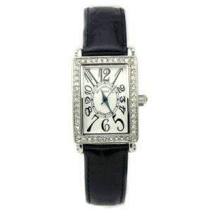 [アレサンドラオーラ]Alessandra Olla 腕時計 スワロフスキー AO-1500-1 BK レディース azsys
