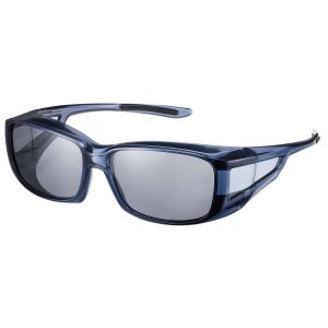 SWANS(スワンズ) 偏光 サングラス メガネの上からかける オーバーグラス OG4-0051 SCLA スモーククリア azsys