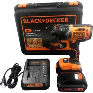 ブラックアンドデッカー(BLACK+DECKER) コードレスインパクトドライバー 18V EXI18|azsys