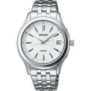 [セイコーウォッチ]SEIKO WATCH 腕時計 DOLCE ドルチェ ソーラー電波修正 日常生活用強化防水 (10気圧) サファイアガラス スーパークリア コーティング SADZ123 azsys