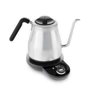 OXO 電気ケトル コーヒー ドリップ ポット 細口 温度調整機能 タイマー付き 1.1L 8717100 azsys
