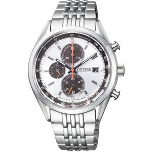 [シチズン]CITIZEN 腕時計 CITIZEN COLLECTION シチズンコレクション エコ・ドライブ クロノグラフ CA0450-57A メンズ azsys